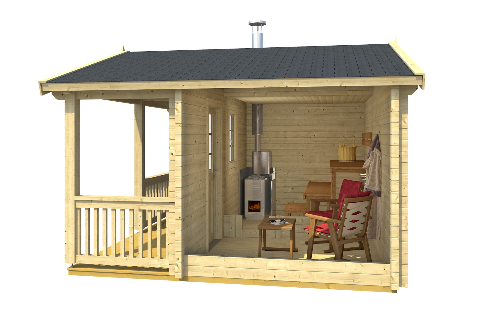 Casas de madera grupotene grupotene - Casas de madera nordicas ...