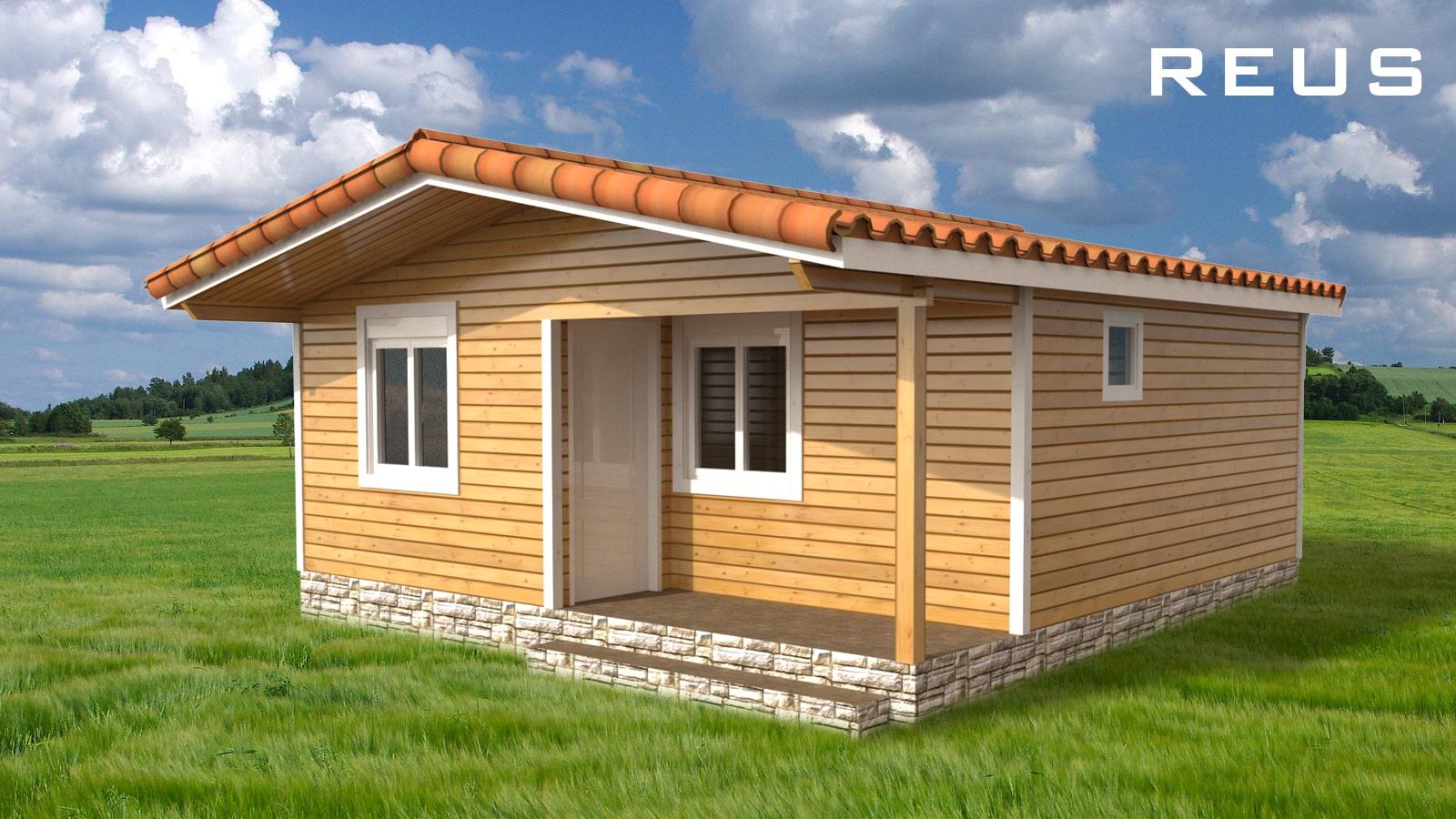 Casa de madera llave en mano modelo reus