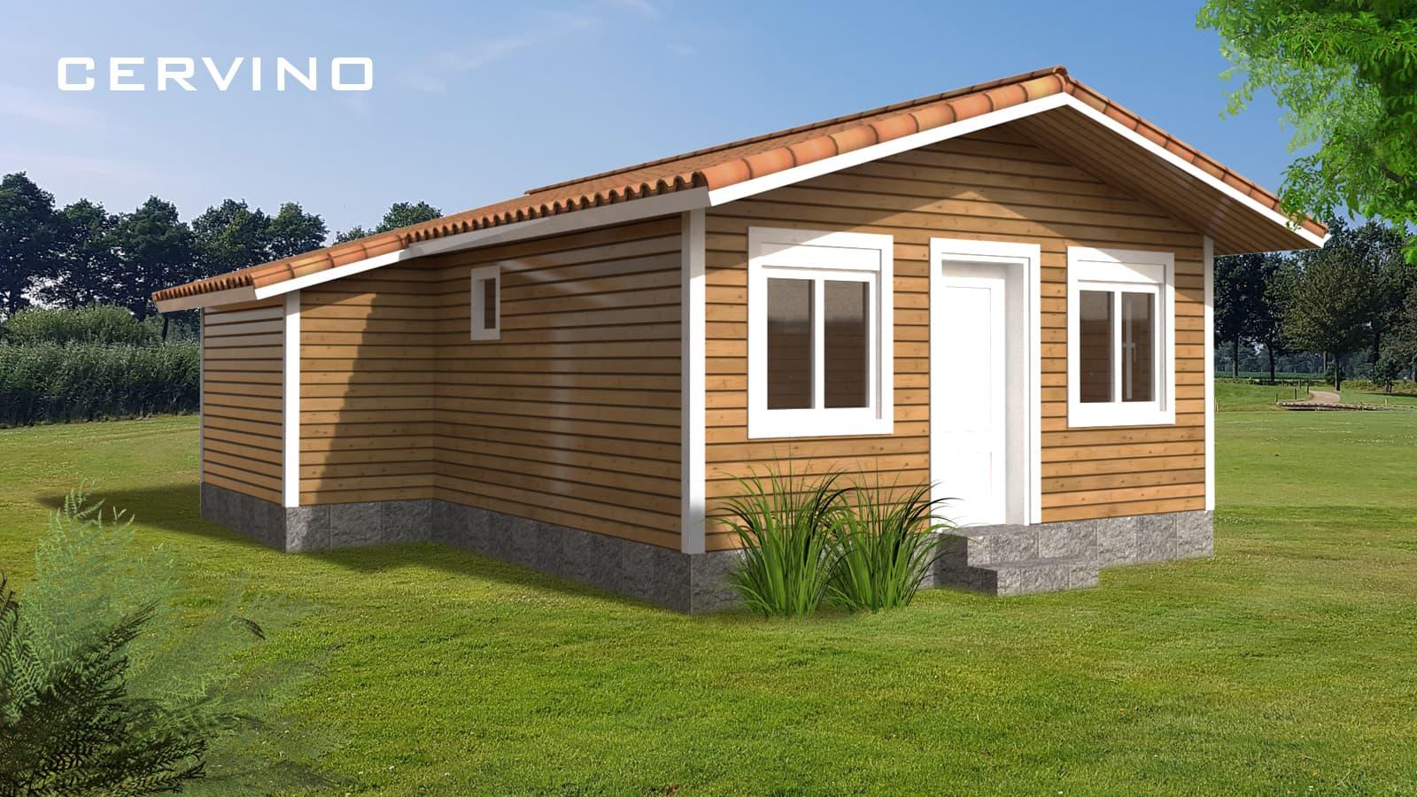 casa de madera llave en mano modelo cervino
