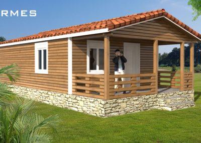 casa de madera llave en mano modelo tormes