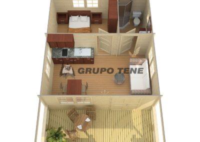 casa de madera llave en mano modelo tormes plano 2