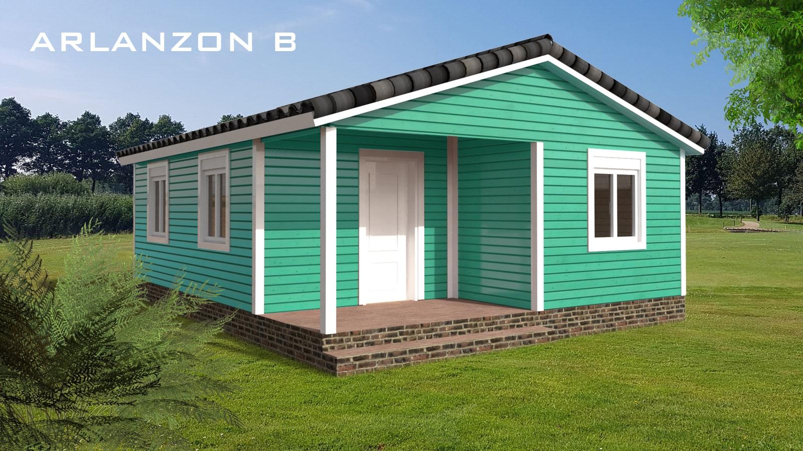 casa de madera llave en mano arlanzon b