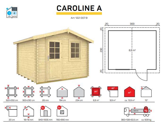 CAROLINE A catalogo