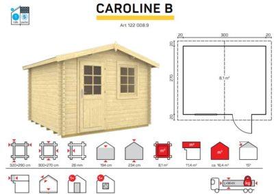 CAROLINE B catalogo