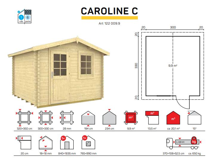 CAROLINE C catalogo