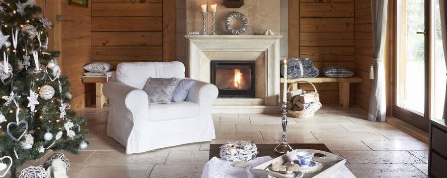 Decora tu casa de madera para Navidad