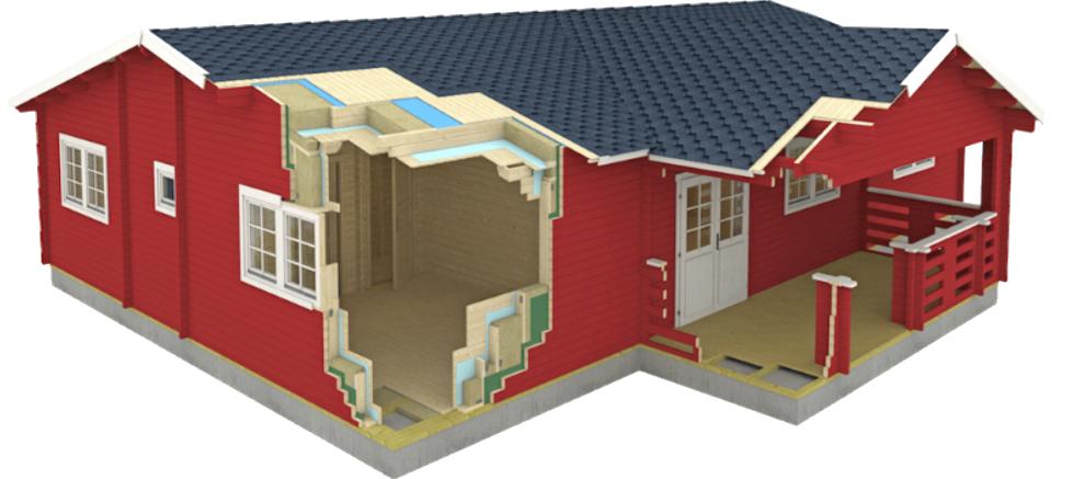 Como construir una casa de madera