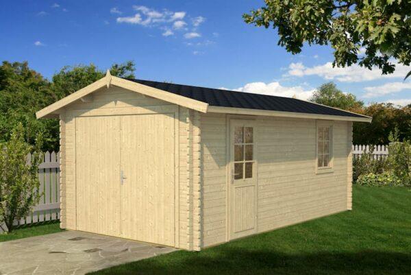Garaje de madera A
