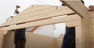 montaje casas de madera