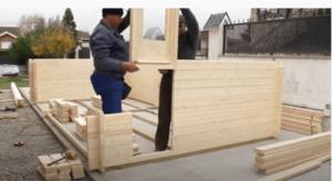 Encaje de puertas de madera