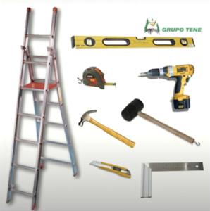 herramientas para construir casa madera