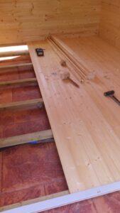 montaje casa madera