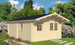 caseta de jardin de madera Gotland E