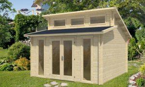caseta de jardin de madera Langeoog B