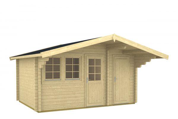 caseta de jardin de madera Pedro A