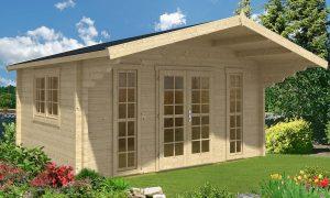caseta de jardín de madera Sauerland B