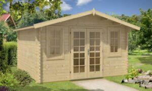 Caseta de Jardín de madera Aino