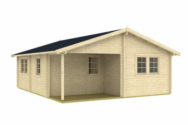 Casa de Jardín de madera Arlanzon A