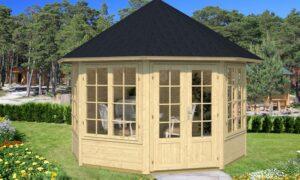 Caseta de Jardín de madera Emma 4F