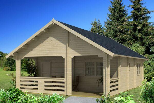 Casa de Jardín de madera con altillo Europa