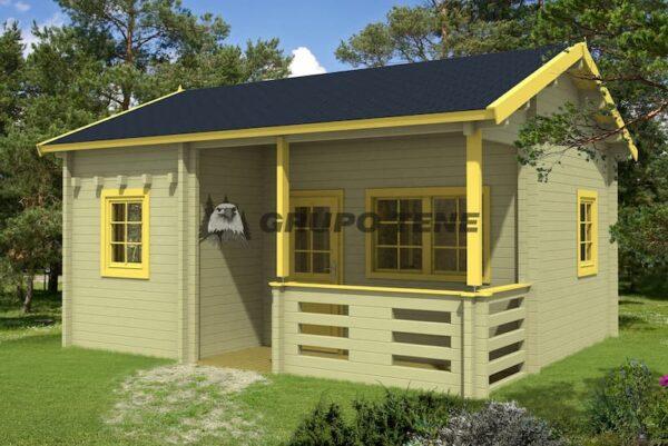 Casa de Jardín de madera con altillo Falun B