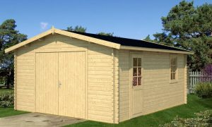 Garaje de madera B