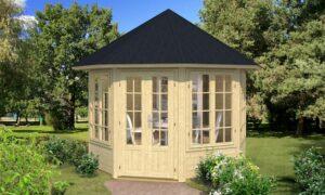 caseta de jardin de madera Louise 4F