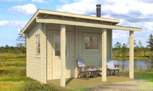 Sauna de madera pihasauna 12