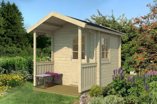 Sauna de madera Niklas
