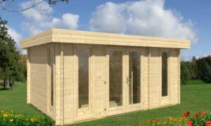 Caseta de Jardín de madera Oriental 5