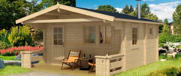 Sauna de madera Pekka