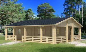 Casa de Jardín de madera Riopas