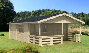 Casa de Jardín de madera Tormes