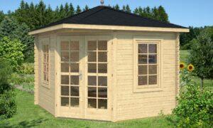 Caseta de Jardín de madera Victoria B